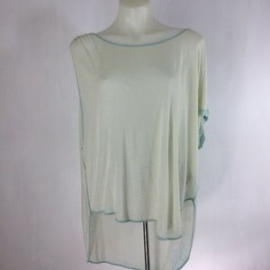 We The Free Pluto Linen Blend One Shoulder T-Shirt